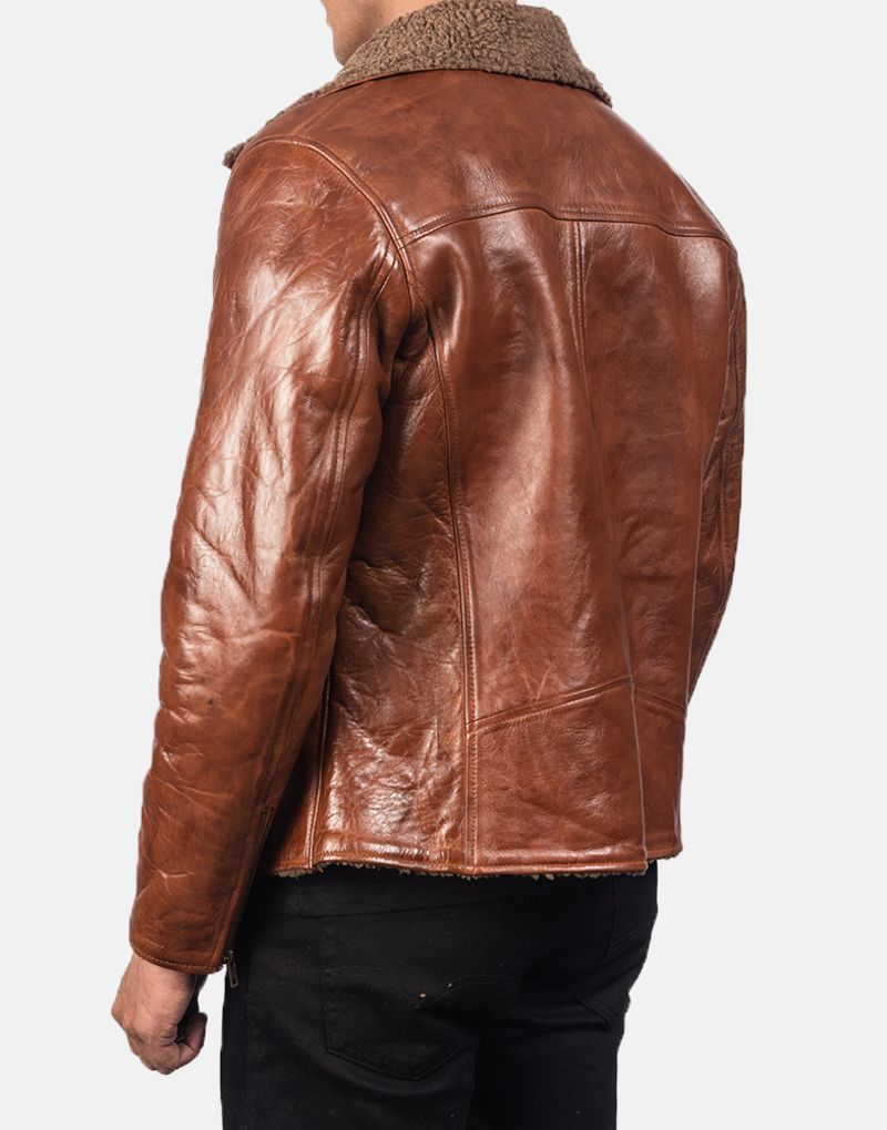 Alberto-Shearling-Brown-Leather-Jacket-5