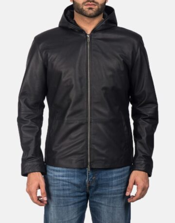 Andy-Matte-Black-Hooded-Leather-Jacket-1.