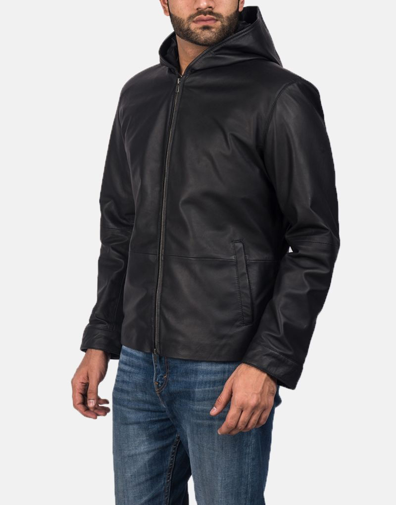 Andy-Matte-Black-Hooded-Leather-Jacket-2