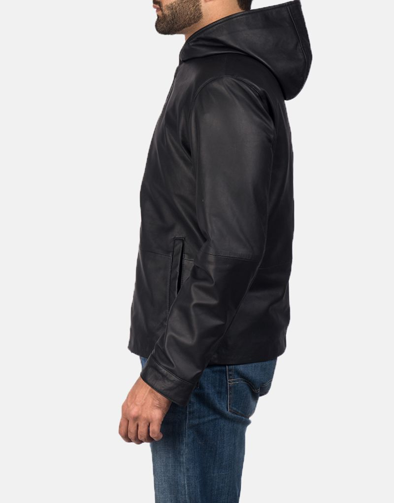 Andy-Matte-Black-Hooded-Leather-Jacket-3