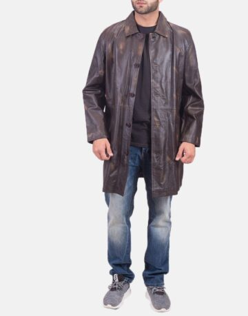 Classmith-Brown-Leather-Coat
