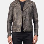 Danny-Quilted-Brown-Leather-Biker-Jacket