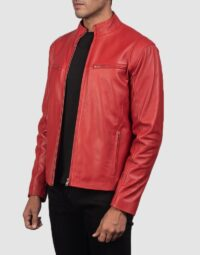 Ionic-Red-Leather-Biker-Jacket-for-men-3