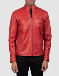 Ionic-Red-Leather-Biker-Jacket-for-men-4