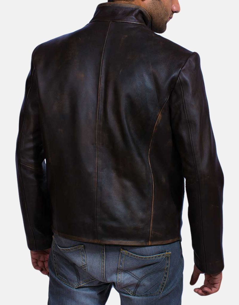 Mens-Drakeshire-Brown-Leather-Jacket