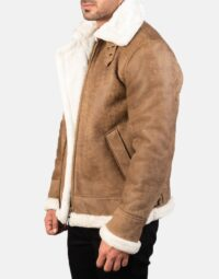 Mens-Francis-B-3-Distressed-Brown-Leather-Bomber-Jacket-3