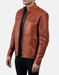 Mens-Ionic-Tan-Brown-Leather-Jacket-3