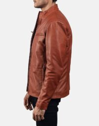 Mens-Ionic-Tan-Brown-Leather-Jacket-5