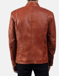 Mens-Ionic-Tan-Brown-Leather-Jacket-6