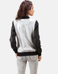 Silver-and-Black-Bomber-Jacket-Zoom-3