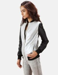 Silver-and-Black-Bomber-Jacket-Zoom-Extra-2