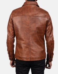 Waffle-Brown-Leather-Jacket-for-men-4